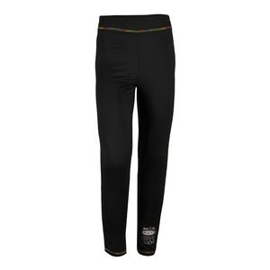 Girls` Ankle Sport Legging Black