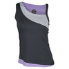 BOLLE Women`s Lavender Fields Tennis Top Graphite and Lavender