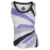 BOLLE Women`s Lavender Fields Tennis Tank Print