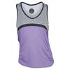 BOLLE Women`s Lavender Fields Racerback Tennis Tank Lavender