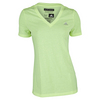 ADIDAS Women`s Climacool Aeroknit Tennis Tee Frozen Yellow Heather