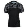 ADIDAS Men`s Response Trend Tennis Tee Black and White