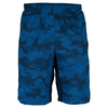 ADIDAS Boys` Response Trend Bermuda Tennis Short Collegiate Navy and Blue