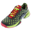 ADIDAS Men`s Barricade 2015 Great Wall Tennis Shoes Base Green and Black