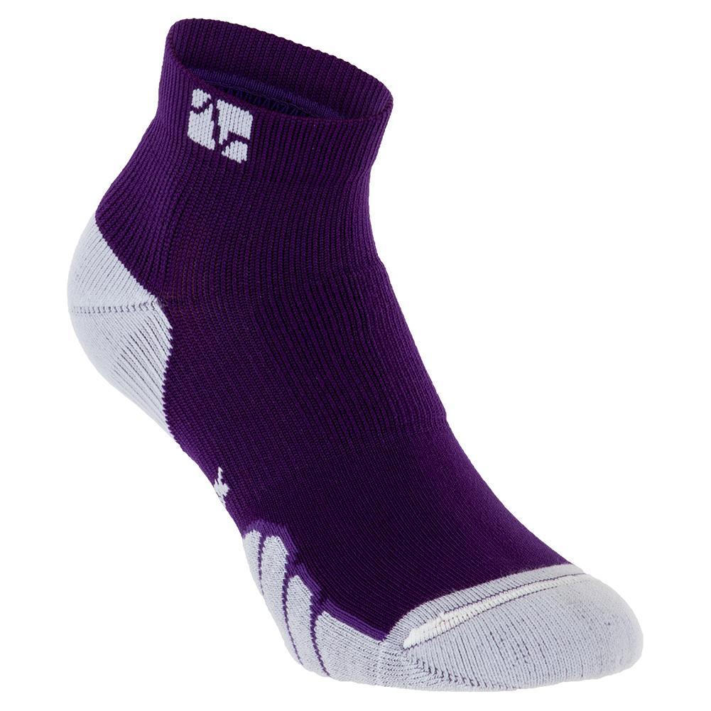 Court Sports Ped Socks Purple