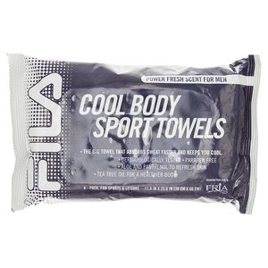 FILA COOL BODY SPORT TOWEL PWR FRESH SIX PACK
