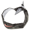 NIKE Premier Tennis Headband Cool Gray and Hot Lava