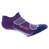 FEETURES Elite Light Cushion No Show Tab Socks Ultraviolet and Coral