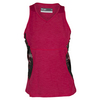 LIJA Women`s Resolute Tennis Tank Crimson and Print