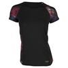 LIJA Women`s Intensity Tee Black and Print