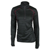 LIJA Women`s Trailblazer 1/4 Zip Top Black and Crimson