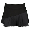 LIJA Women`s Multi Panel Tennis Skort Black