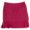 LIJA Women`s Pleated Tennis Skort Crimson