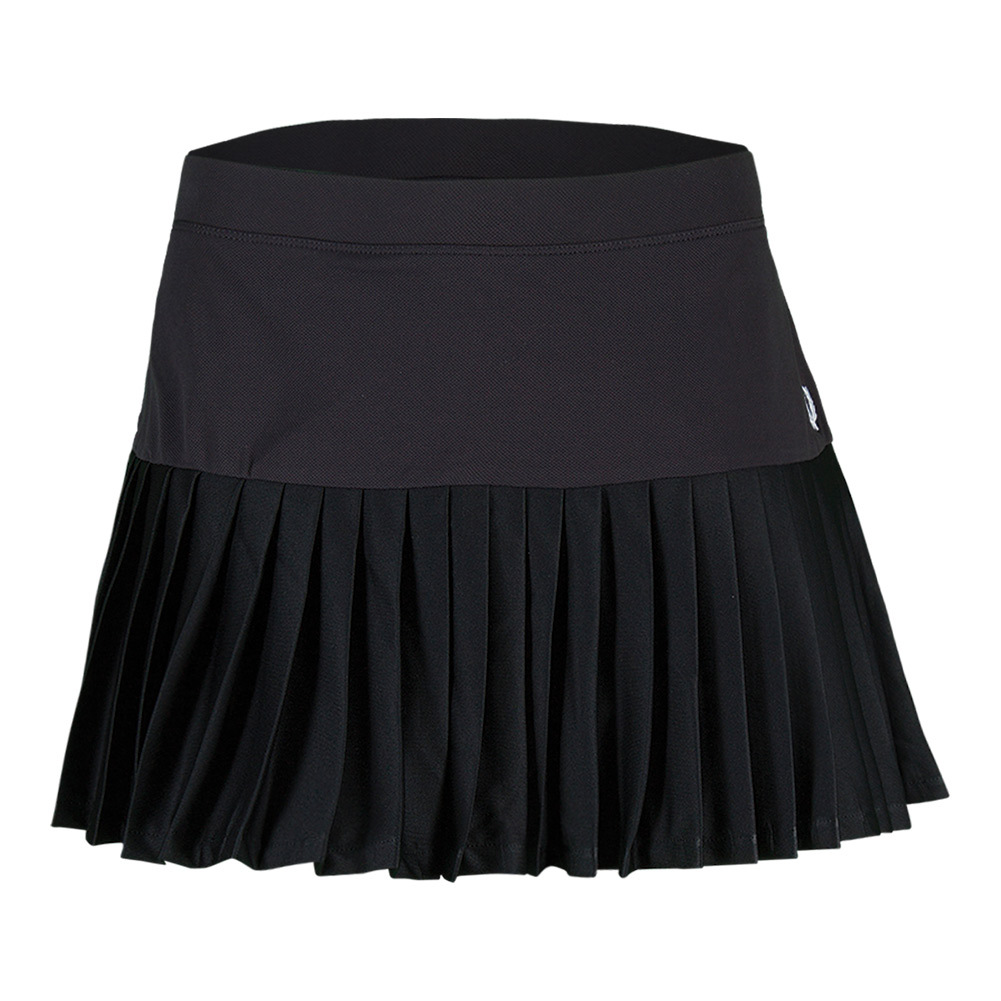 Women's Pleated Tennis Ball Skort Navy