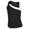 BOLLE Women`s Mystique Highneck Tennis Tank Black