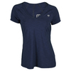 ELEVEN Women`s Studio V Neck Tennis Top Blue Nights