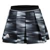 ADIDAS Girls` Response Trend Tennis Skort Black and White