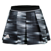 ADIDAS Women`s Response 12 Inch Tennis Skort Black and White