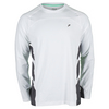 FILA Men`s Platinum Long Sleeve Tennis Top White
