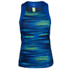 ADIDAS Women`s Response Trend Tennis Tank Midnight Indigo and Bold Blue