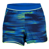 ADIDAS Girls` Response Trend Tennis Short Bold Blue and Frozen Yellow