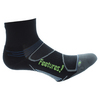 Elite Light Cushion Quarter Socks 9_BLACK/REFLECTOR