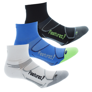 Elite Light Cushion Quarter Socks
