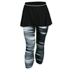 ADIDAS Women`s Response Tennis Skort Leggings Black