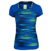 ADIDAS Women`s Response Trend Tennis Tee Midnight Indigo and Bold Blue