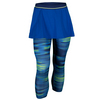 ADIDAS Women`s Response Tennis Skort Leggings Bold Blue