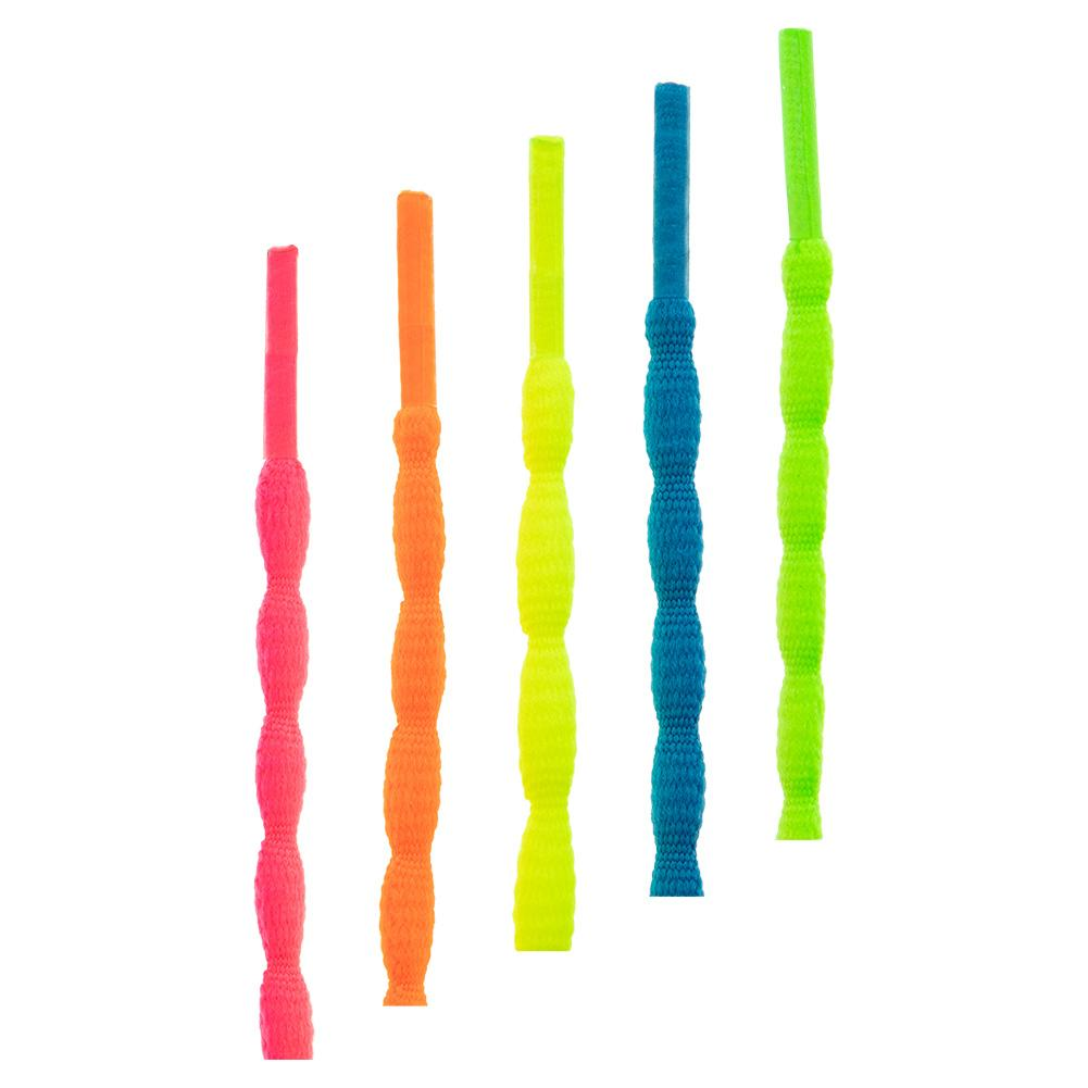 Oval Neon Shoelaces 54 Inch