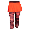 ADIDAS Women`s Response Tennis Skort Leggings Solar Red