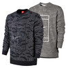 NIKE Men`s Court Fleece Tennis Crew