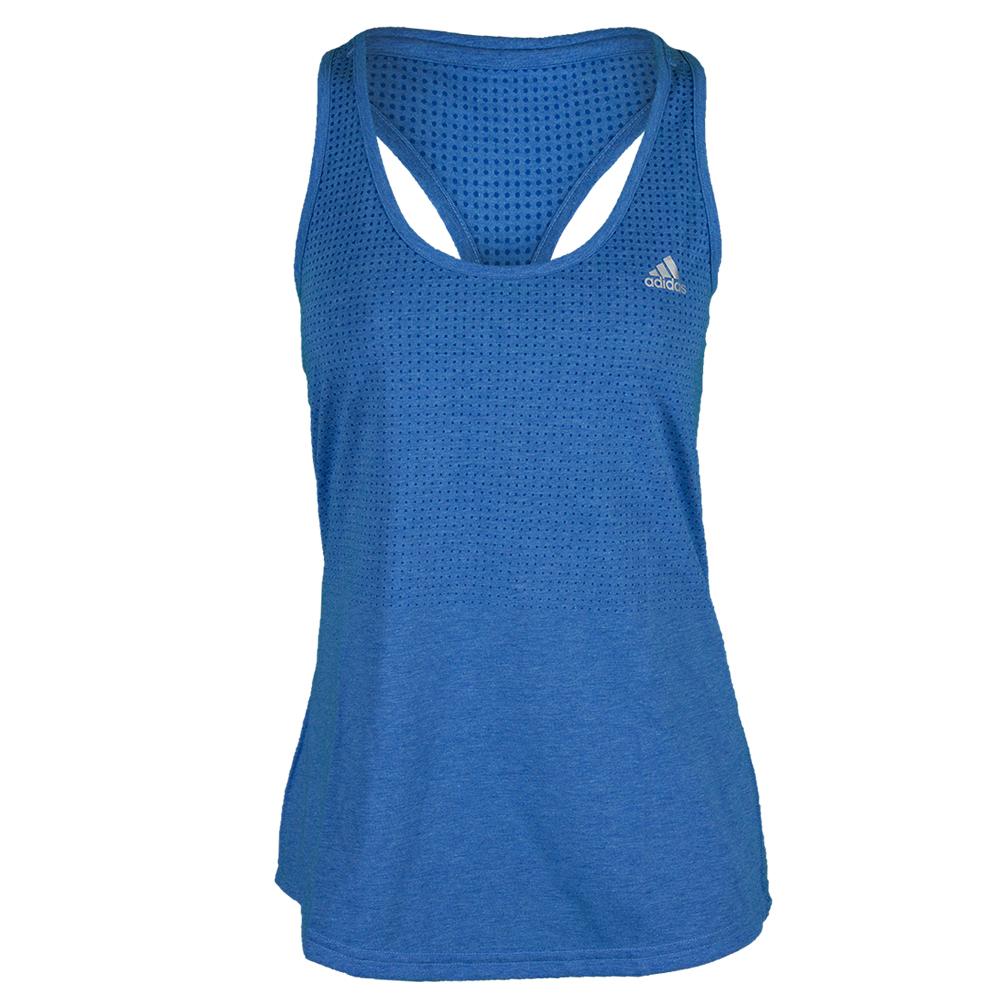 Women`s Climacool Aeroknit Tennis Tank Bold Blue Heather