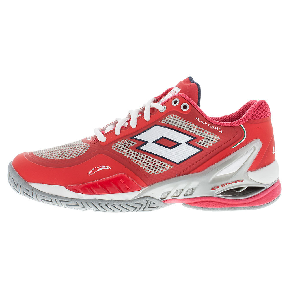 Women's Raptor Evo Speed Tennis Shoes Red And White