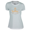 Women`s Bubbly Mixed Doubles Tennis Tee 001_WHITE