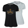 Women`s Bubbly Mixed Doubles Tennis Tee by SOLFIRE
