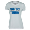 Women`s Hard Mixed Doubles Tennis Tee 001_WHITE