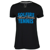 Women`s Hard Mixed Doubles Tennis Tee 099_ANTHRACITE