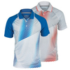 Men`s Gradient Printed Tennis Polo by PRINCE