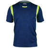 FILA Men`s Camo Jacquard Tennis Crew Blue Depths Jacquard