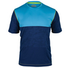 FILA Men`s Camo Contrast Tennis Crew Blue Depths and Sky Blue