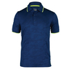 FILA Men`s Camo Tennis Polo Blue Depths Jacquard