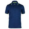 FILA Men`s Camo Tennis Polo Blue Depths Jacquard