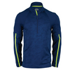 FILA Men`s Camo Half Zip Tennis Top Blue Depths Jacquard