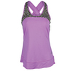 JOFIT Women`s Criss Cross Tennis Tank Mulberry