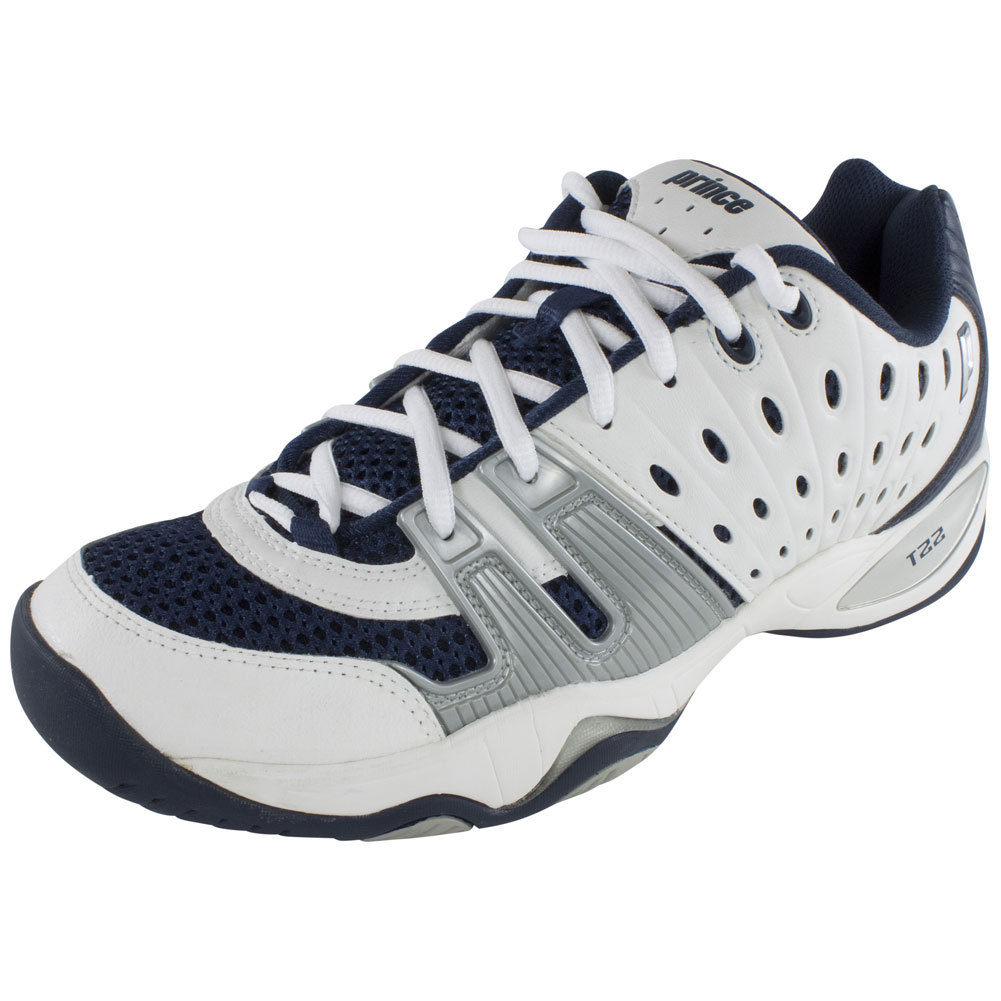 Tennis Express | PRINCE T22 Men`s Tennis Shoes White/Black/Green