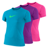 NIKE Girls` Legend Short Sleeve Top