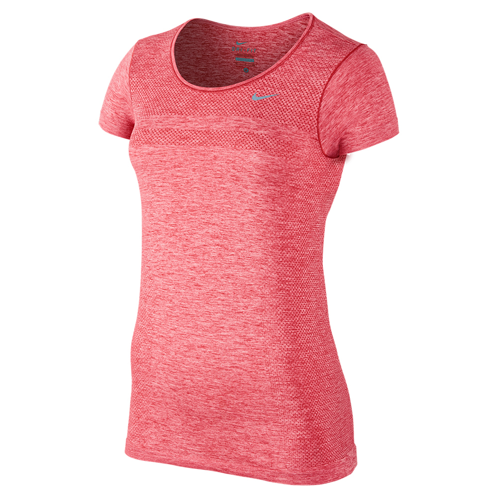 Women`s Dri-Fit Knit Short Sleeve Training Tee