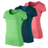 NIKE Women`s Dri-Fit Knit Short Sleeve Training Tee